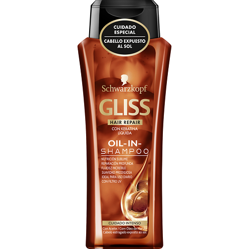 DIS885 CHAMPU GLISS OIL IN MARULA 250ML
