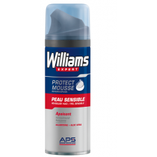 WILLIAMS EXPERT ESPUMA DE AFEITAR PIEL SENSIBLE 200 ML
