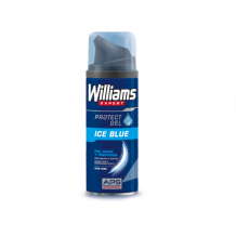 WILLIAMS EXPERT GEL DE AFEITAR ICE BLUE PIEL SUAVE Y TONIFICADA 200 ML