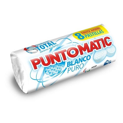 PUNTOMATIC DETERGENTE PASTILLA BLANCO PURO  264 GRS