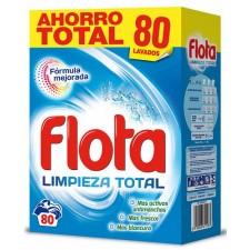 FLOTA LIMPIEZA TOTAL DETERGENTE 80 LAVADOS 4,8 KG