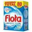 DIS988 FLOTA LIMPIEZA TOTAL DETERGENTE 80 LAVADOS 4,8 KG