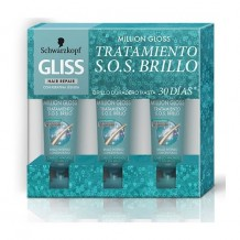 GLISS TARTAMIENTO SOS MILLION GLOSS  3X20ML
