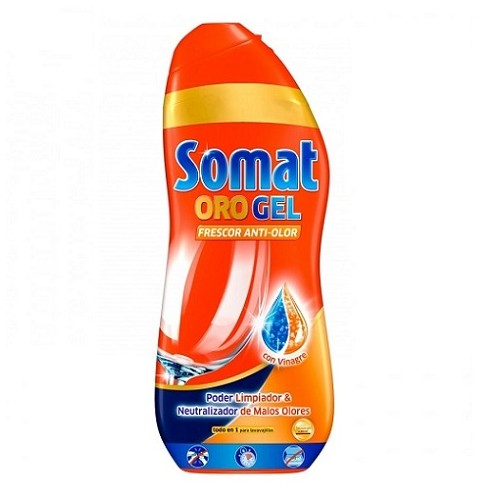 SOMAT LAVAVAJILLAS GEL VINAGRE 675 ML