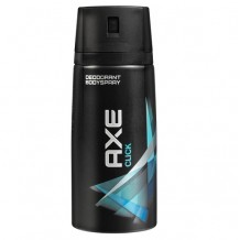 COS1642 AXE DEO SPRAY CLICK 150 ML