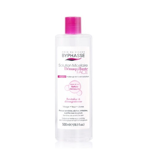 BYPHASSE  SOLUCION DESMAQUILLANTE 500ML