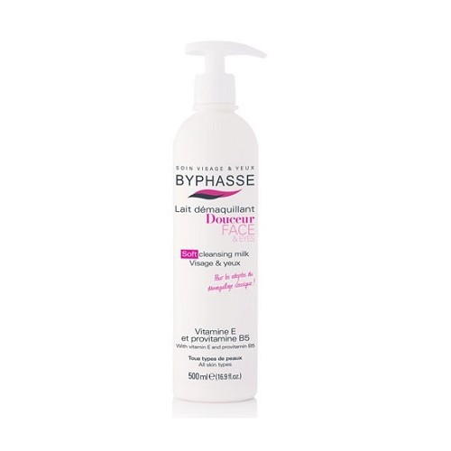 BYPHASSE LECHE DESMAQUILLANTE 500ML