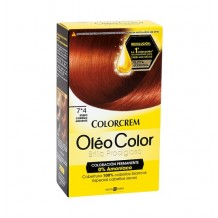 DIS2035 COLORCREM OLEO COLOR RUBIO CENIZA ARDIENTE 7*4