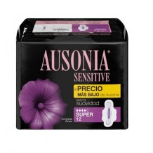DIS1193 AUSONIA SUPER SENSITIVE COMPRESAS 12UND