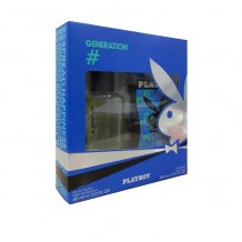PLAYBOY ESTUCHE GENERATION EAU DE TOILETTE 60ML + GEL DE DUCHA 250ML
