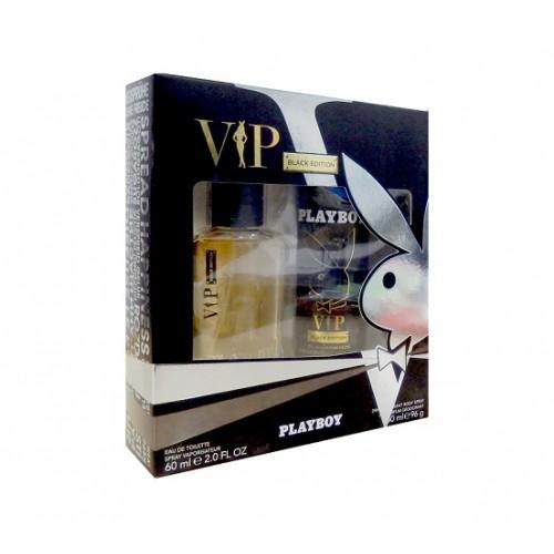 DIS2293 PLAYBOY ESTUCHE VIP EAU DE TOILETTE 60ML + DEO SPRAY 150ML
