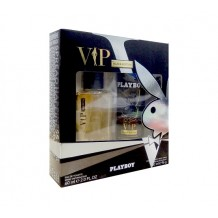 PLAYBOY ESTUCHE VIP EAU DE TOILETTE 60ML + DEO SPRAY 150ML