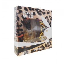 PLAYBOY ESTUCHE PLAI IT WILD EAU DE TOILETTE 40ML + GEL DE DUCHA 250ML