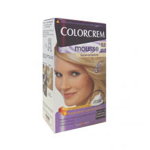 DIS252 COLORCREM MOUSSE RUBIO EXTRA CLARO NATURAL