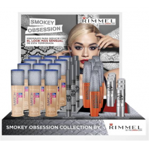 RIMMEL LONDON EXPOSITOR MEDIA CARGA