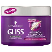 GLISS MASCARILLA HIAULORON MAS RELLENADOR 200ML