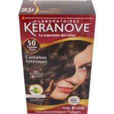 TINTE KERANOVE Nº 50 CASTAÑO CLARO