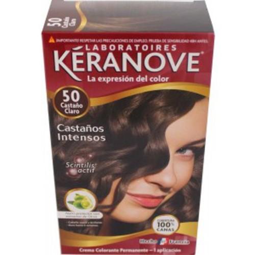 DIS1577 TINTE KERANOVE Nº 50 CASTAÑO CLARO