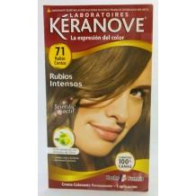 DIS1568 TINTE KERANOVE Nº 71 RUBIO CENIZO