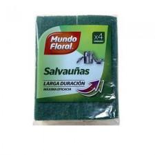MUNDO FLORAL SALVA UÑAS 4 und.