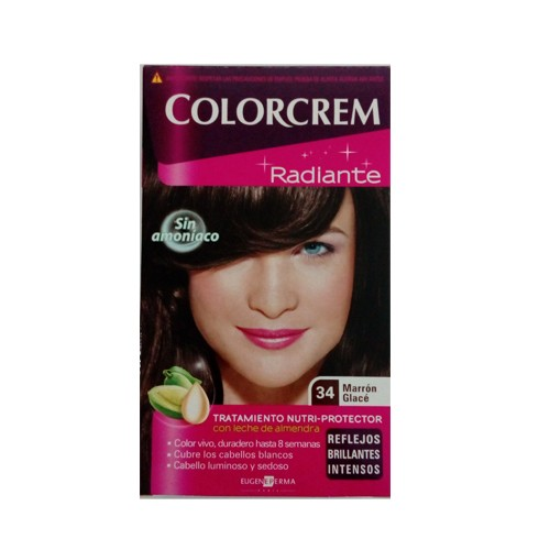 COS2132 COLORCREM RADIANTE 34 MARRON GLACE