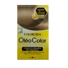 COLORCREM OLEO COLOR RUBIO CLARO OBSESEION Nº 8