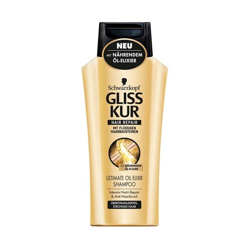 DIS1314 GLISS CHAMPU ULTIMATE OIL ELIXIR 400ML