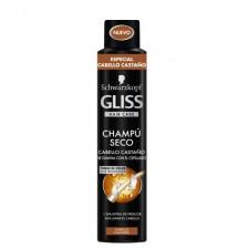 GLISS CHAM. SECO CABELLOS CASTAÑOS 200ML