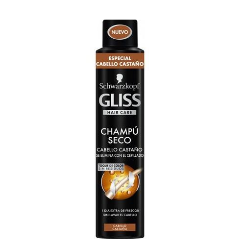 DIS3718 GLISS CHAM. SECO CABELLOS CASTAÑOS 200ML