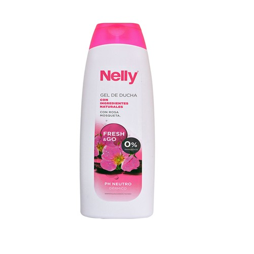 DIS651 NELLY GEL DUCHA CON ROSA MOSQUETA 750ML