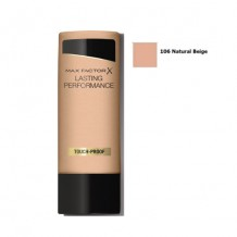 DIS1838 MAX FACTOR  LASTING PERFORMANCE 106 NATURAL BEIGE