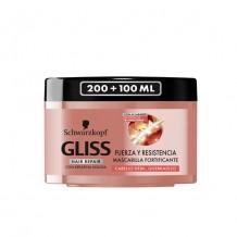 DIS1333 GLISS MASCARILLA FUERZA Y RESISTENCIA 300ML