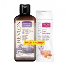 COS1176 NATURAL HONEY PACK AHORRO GEL DUCHA + HIDRATANTE 650ML+400ML