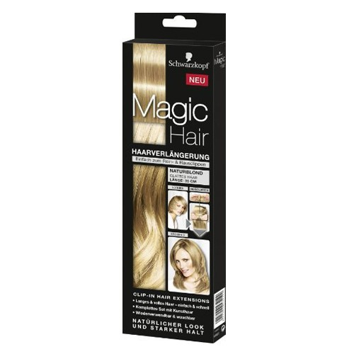 DIS971 EXTENSIONES MAGIC HAIR RUBIO NATURAL 35CM