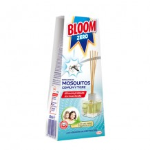 DIS2904 BLOOM ZERO REPELENTE MOSQUITOS COMUN Y TIGRE 40ML