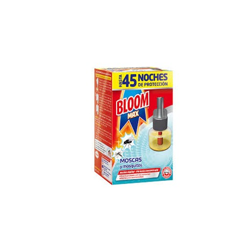DIS3645 BLOOM MAX RECAMBIO 45 NOCHES ANTI MOSQUITOS