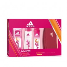 COS3125 ESTUCHE ADIDAS FRUITY EDT 75ML+DEO150ML+GEL250ML