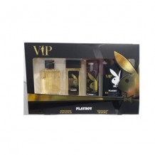 COS3126 ESTUCHE PLAYBOY VIP EDT100ML+DESODORANTE 75ML+BODY SPRAY 150ML+GEL 250ML