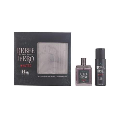 DIS2299 ESTUCHE REBEL HERO FOR MEN WANTED