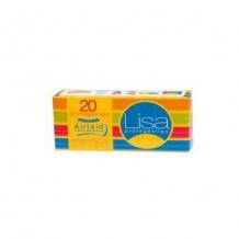 COS1680 LISA PROTEGESLIPS ANATOMICOS 20UD