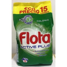 DIS1006 FLOTA DETERGENTE FRESCOR COLONIA 12 + 2 LAVADOS