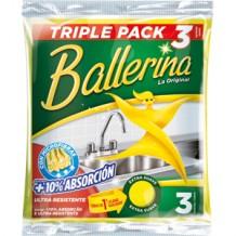 DIS1356 BALLERINA BAYETA  X3