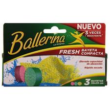 DIS305 BALLERINA FRESH BAYETA COMPACTA X3