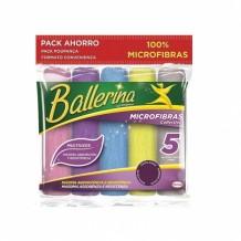 BALLERINA BYT MICROFIBRA 5 UNIDADES