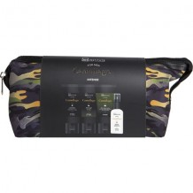 IDC INSTITUTE CAMOUFLAGE 4 PCS COSMETIC BAG