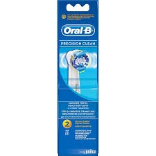 ORAL-B CEPILLO PRECISION CLEAN 2 UNID.